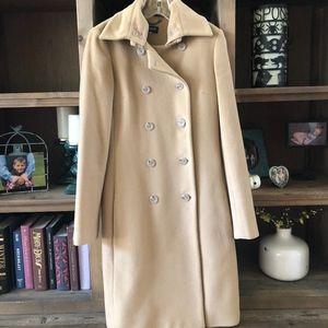 J.Crew Cashmere Blend Winter Coat